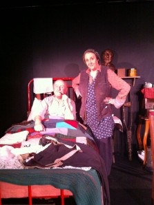 Ronan Wilmot with Anne Brogen as The Tailor & Ansty