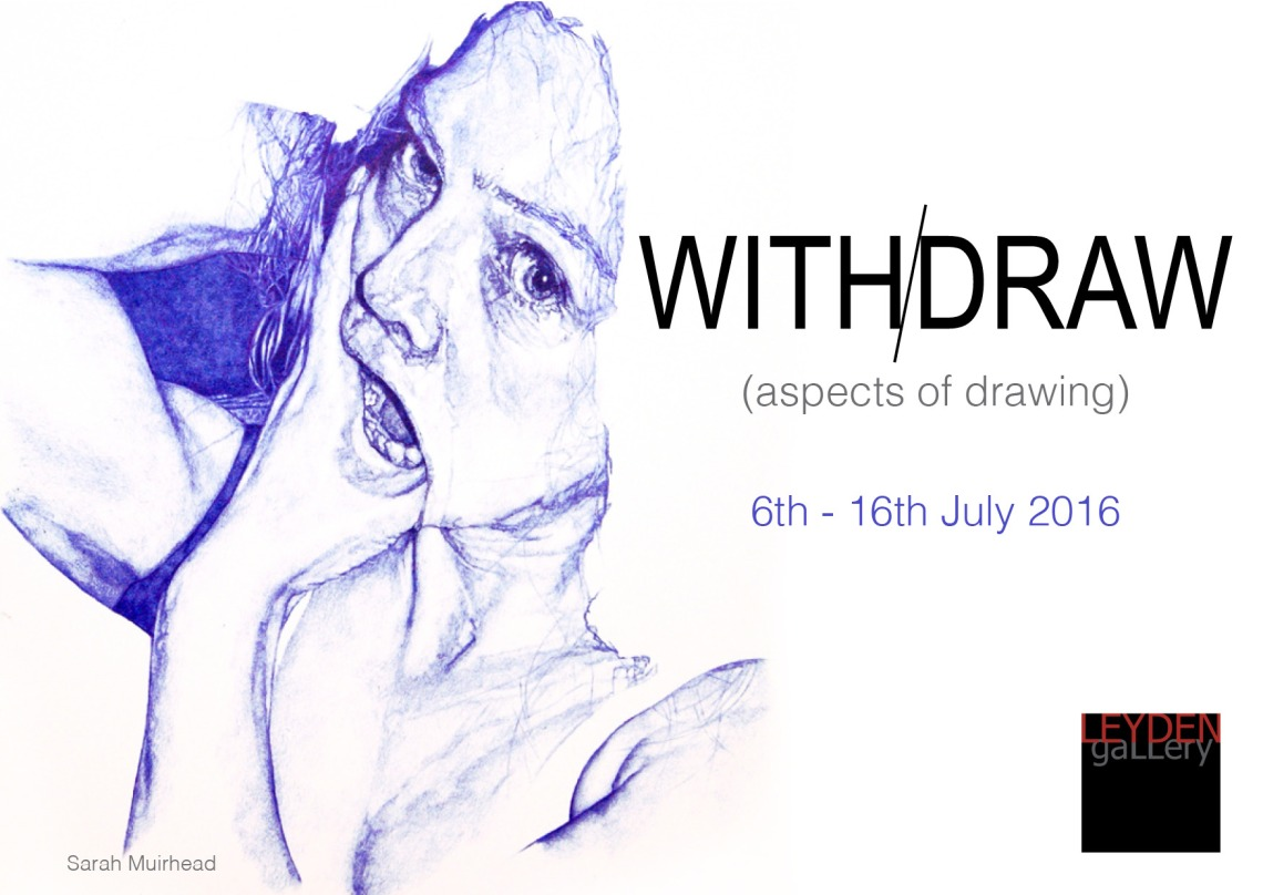 Leyden Gallery Withdraw exhib
